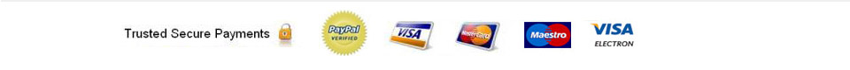 George Cars Trusted Secure Payments by Paypal, Visa, Mastercard, Maestro, Visa Electron