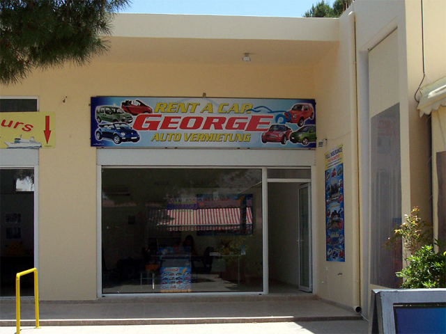 George Car Rental Pefkos Office