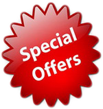 Special offer for car rental