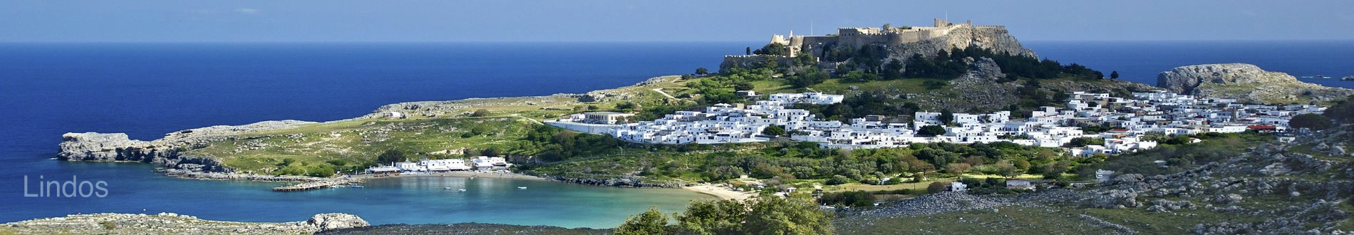 George Cars rent a car Rhodes airport, Lindos beach